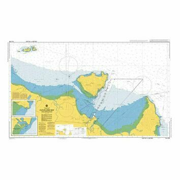AUS256 Cleveland Bay and Approaches Admiralty Chart