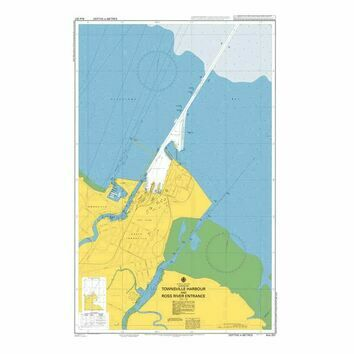 AUS257 Townsville Harbour and Ross River Entrance Admiralty Chart