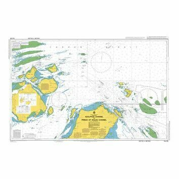 AUS292 Adolphus Channel to Prince of Wales Channel Admiralty Chart