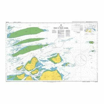 AUS293 Prince of Wales Channel Admiralty Chart