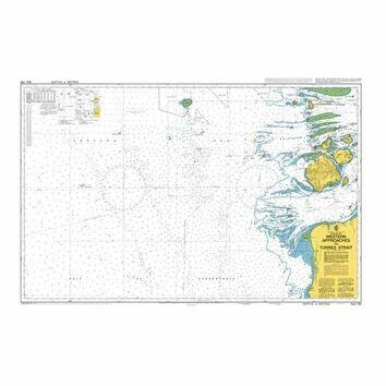 AUS700 Western Approaches to Torres Strait Admiralty Chart