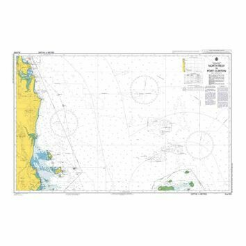 AUS820 North Reef to Port Clinton Admiralty Chart