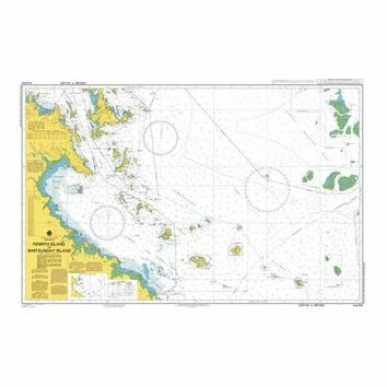 AUS824 Penrith Island toWhitsunday Island Admiralty Chart