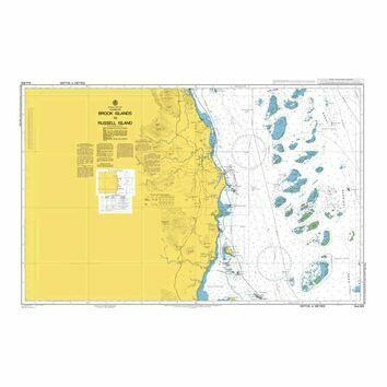 AUS829 Brook Islands to Russell Island Admiralty Chart