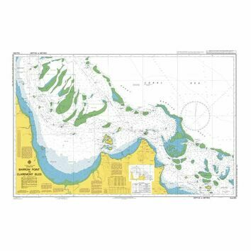 AUS833 Barrow Point to Claremont Isles Admiralty Chart