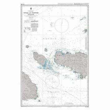 AUS386 Vitiaz and Dampier Straits Admiralty Chart