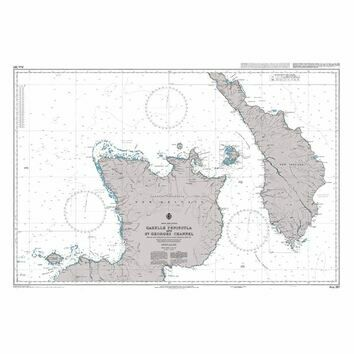 AUS397 Gazelle Peninsula and St Georges Channel Admiralty Chart