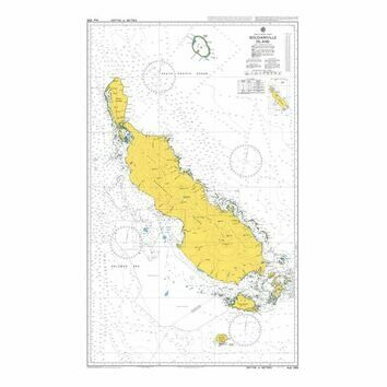 AUS399 Bougainville Island Admiralty Chart