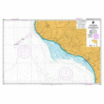 NZ45 Cape Egmont to Rangitikei River Admiralty Chart