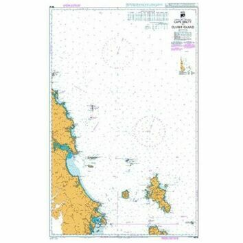 NZ52 Cape Brett to Cuvier Island Admiralty Chart