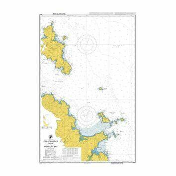NZ531 Great Barrier Island to Mercury Bay Admiralty Chart
