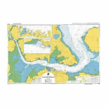 NZ5322 Auckland Harbour Admiralty Chart