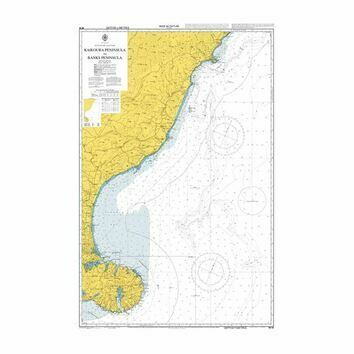 NZ63 Kaikoura Peninsula to Banks Peninsula Admiralty Chart