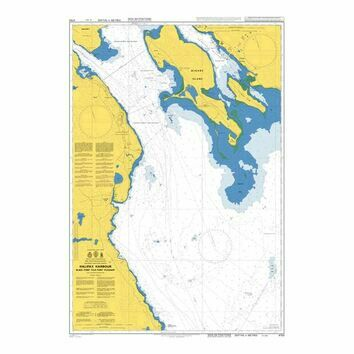 4753 Halifax Harbour, Black Point to Point Pleasant Admiralty Chart