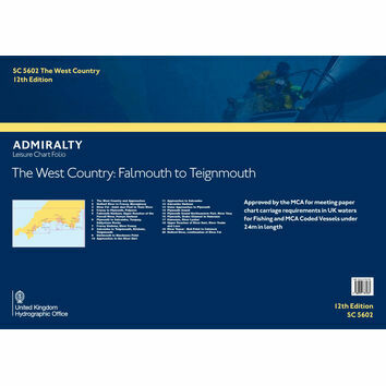 SC5602 The West Country: Falmouth to Teignmouth Admiralty Leisure Folio