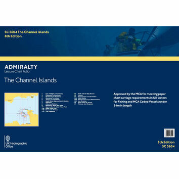 SC5604 The Channel Islands Admiralty Leisure Folio