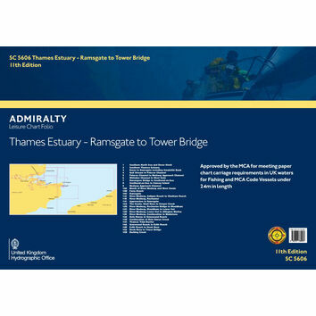 SC5606 Thames Estuary: Ramsgate to Tower Bridge Admiralty Leisure Folio