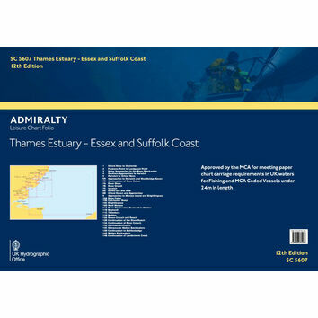 SC5607 Thames Estuary, Essex & Suffolk Coast Admiralty Leisure Folio