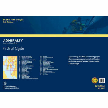 SC5610 Firth of Clyde Admiralty Leisure Folio