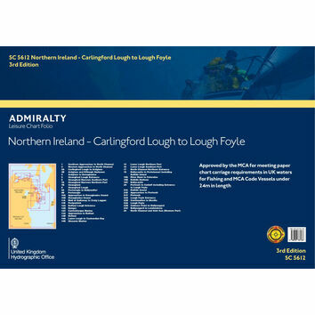 SC5612 Northern Ireland: Carlingford Lough to Lough Foyle Admiralty Leisure Folio