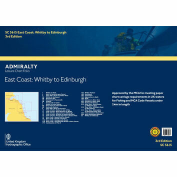 SC5615 East Coast: Whitby to Edinburgh Admiralty Leisure Folio