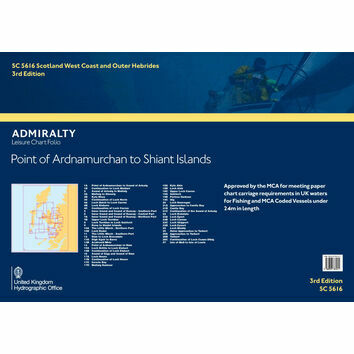 SC5616 Point of Ardnamurchan to Shiant Islands Admiralty Leisure Folio