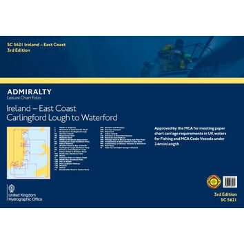 SC5621 Ireland East Coast: Carlinford Lough to Waterford Admiralty Leisure Folio