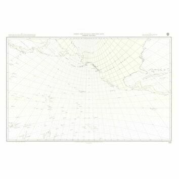 5097 North Pacific Ocean Gnomonic Admiralty Chart