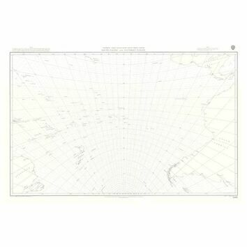 5098 South Pacific and Southern Oceans Admiralty Gnomonic Chart