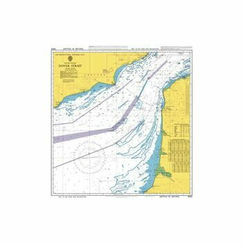 5052 Dover Strait Instructional Admiralty Chart
