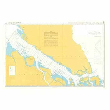 5084 Co-tidal and Co-range Lines - Malacca Strait Admiralty Chart