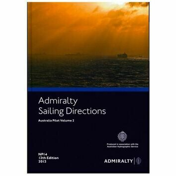Admiralty Sailing Directions NP14 Australia Pilot Volume 2