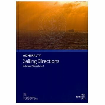 Admiralty Sailing Directions NP36 Indonesia Pilot Volume 1