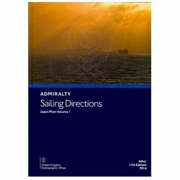 Admiralty Sailing Directions NP41 Japan Pilot Volume 1