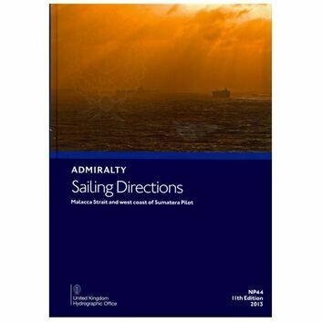 Admiralty Sailing Directions NP44 Malacca Strait & W. Coast of Sumatera Pilot