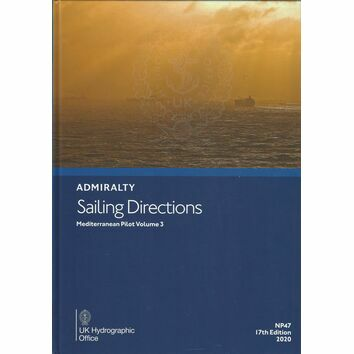 Admiralty Sailing Directions NP47 Mediterranean Pilot Volume 3