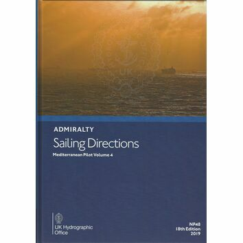 Admiralty Sailing Directions NP48 Mediterranean Pilot Volume 4