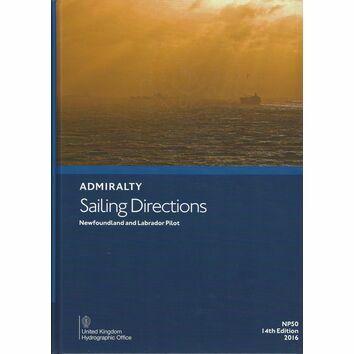 Admiralty Sailing Directions NP50 Newfoundland and Labrador Pilot
