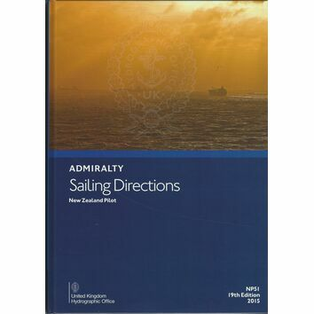 Admiralty Sailing Directions NP51 New Zealand Pilot