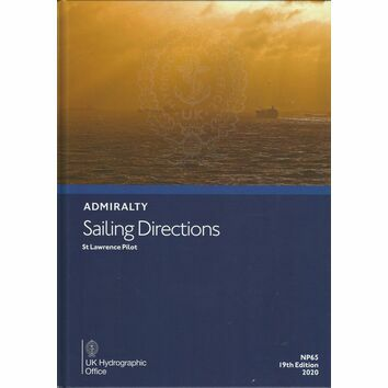 Admiralty Sailing Directions NP65 St Lawrence Pilot