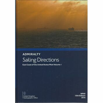 Admiralty Sailing Directions NP68 East Coast of USA Pilot Volume 1