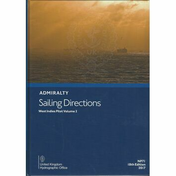 Admiralty Sailing Directions NP71 West Indies Pilot Volume 2