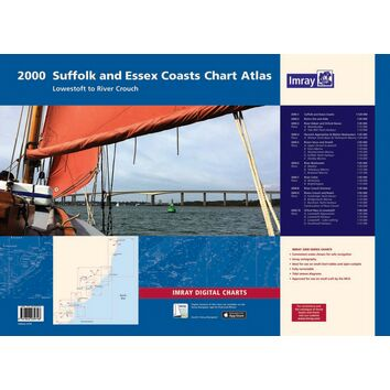 Imray 2000 Suffolk and Essex Coasts Chart Atlas