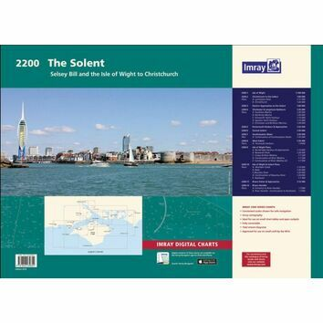 2200 Solent Imray Chart Atlas