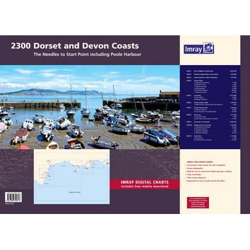 Imray 2300 Dorset & Devon Coasts Chart Pack