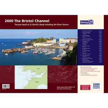 Imray 2600 The Bristol Channel Chart Atlas