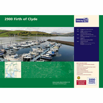 Imray 2900 Firth of Clyde Chart Pack