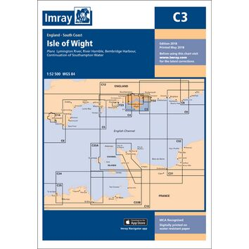 Imray Chart C3: Isle of Wight