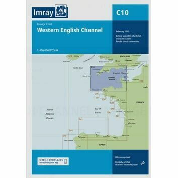 Imray Chart C10: Western English Channel