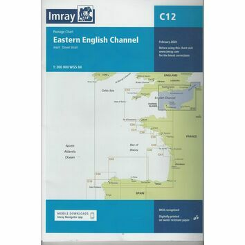 Imray C12: Eastern English Channel Passage Chart